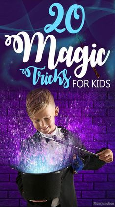 20 Easy Magic Tricks For Kids : Children are fascinated by magic but its even better when they can be magicians themselves.Teach your little magician how to do magic right here. MomJunction has curated easy simple and fun tricks for kids to learn and try. How To Do Magic, Magic Tricks For Kids, Simple Magic Tricks, Card Tricks For Kids, Magic Kids, Easy Tricks, Kids Talent Show Ideas, Magie Party, Learn Card Tricks