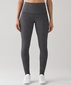 These versatile pants were designed to fit like a second skin—they're perfect for yoga or the gym. The high-rise waistband is designed to lie flat against your skin, pair perfectly with a cropped top, and house a pocket for your locker key or gym pass.