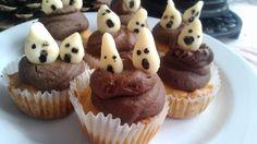 Ze života čtyřmatky: Dýňové muffinky s dušičkami
