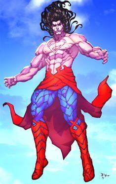 H'el on Earth by ErikVonLehmann on DeviantArt Game Character Design, Character Art, Rockabilly Artwork, Superman Artwork, Univers Dc, Arte Dc Comics, Robot Concept Art, Superhero Design, Comics Universe