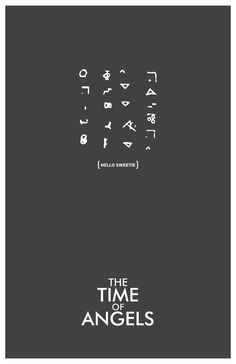 The Time Of Angels poster by balancedpersonality #DoctorWho