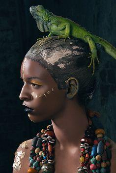 Africa by Vero Nic, via Behance