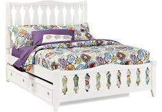 Belmar White 3 Pc Full Sleigh Bed