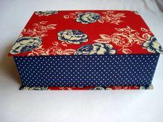 Caixa Livro Primavera Vermelha - G   www.munayartes.com