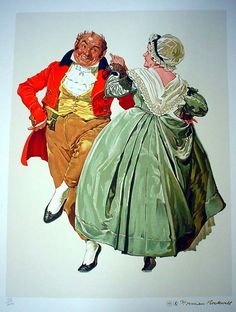 Saper Galleries is the source for Norman Rockwell limited editions ... www.sapergalleries.com600 × 794Buscar por imagen Dancing Partners Buscar con Google