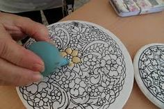 tecnica ceramica cuerda seca - Buscar con Google