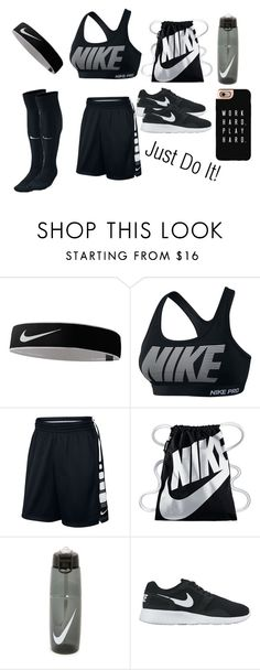 """Just Do It!"" by minnieblasin on Polyvore featuring NIKE, Casetify, women's clothing, women, female, woman, misses and juniors"