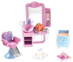 Fisher Price Loving Family Hidden Room Beauty Salon Fisher Price Toys R Us
