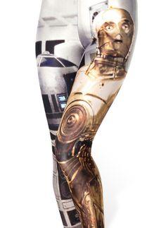 """Women's """"Star Wars"""" Leggings - steezy.com - 3"""