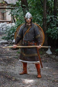 Viking Armor, Larp Armor, Knight Armor, Medieval Armor, Medieval Fantasy, Vikings, Viking Reenactment, Armadura Medieval, Viking Life