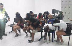 Policía sorprendió en Nochada en el municipio de Soledad a 39 personas, 26 eran menores de edad