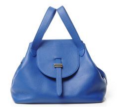 Electric Blue Medium Thela Bag and Clutch by Meli Melo - shop at Roztayger Blue Med, Meli Melo, Electric Blue, Beautiful Bags, Envy, Fashion Backpack, Minimalism, Fashion Accessories, Backpacks