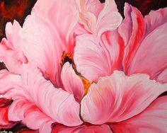 The artist from Louisiana Marcia Baldwin Peony Painting, Painting Edges, Watercolor Flowers, Watercolor Paintings, Watercolours, Art Floral, A Level Art Sketchbook, Art Portfolio, Pink Peonies
