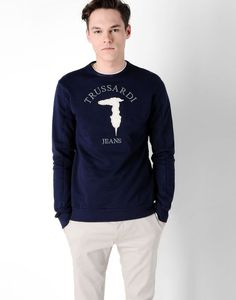 Sweatshirt Men - Knitwear Men on Trussardi.com Online Store
