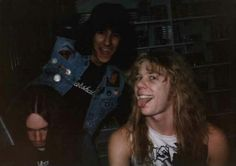~CLIFF BURTON, RON MCGOVNEY & HETFIELD~
