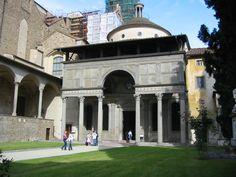 Filippo Brunelleschi - Capela Pazzi, Florença (1430)
