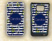 Iphone case, Samsung Galaxy i9100, Nautical anchors summer smartphone case (9775)