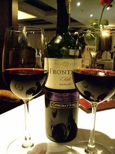 Frontera merlot  Concha y toro... Would like to try this - great to drink while cooking ;-)
