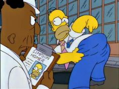 'The bee bit my bottom!  Now my bottom's big!' via The Simpsons Quotes/Memes on facebook