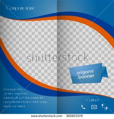 set of paper banners with different shadow styles announcement, Presentation templates