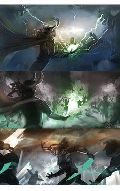 Drawing Superhero God of mischief: Loki by eccomio Loki And Sigyn, Thor X Loki, Loki Laufeyson, Marvel Dc Comics, Marvel Avengers, Loki Art, Loki God Of Mischief, Tom Hiddleston Loki, Marvel Memes
