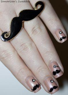 Mustache's & Monocles!