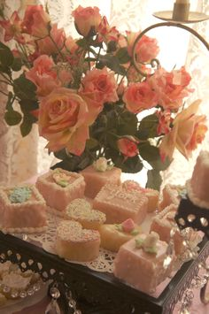 petite fours made for gracies bridal shower