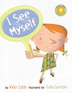 I See Myself (Vicki Cobb Science Play) by Vicki Cobb http://www.amazon.com/dp/0688178367/ref=cm_sw_r_pi_dp_lYVdwb1N30SDZ
