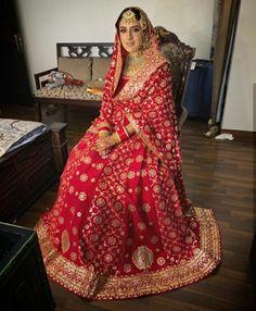 Sikh Bride, Punjabi Bride, Anand Karaj, Latest Bridal Dresses, Bridal Lehenga Collection, Royal Brides, Wedding Wear, Beautiful Bride, Sari