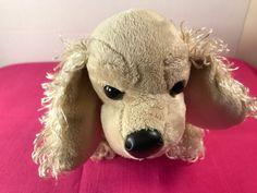 Ganz Webkinz HM202 Plush Brown American Cocker Spaniel Stuffed Animal No Code #GANZ