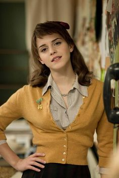 emma Watson in the movie about Marylyn Monroe, good flick. Not enough of Emma in it.