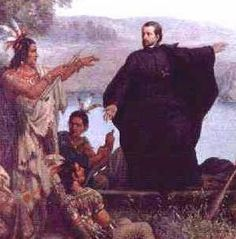 Father Marquette and Louis Joliet  In 1672 Father Marquette, a missionary living with the Huron Indians, contacted Louis Joliet. He wanted them to find a river to the Pacific Ocean. They discovered the Mississippi River. The two traveled as far as the Arkansas River then returned north.