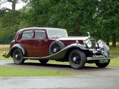 Rolls-Royce Phantom II Continental Sports Saloon 1934