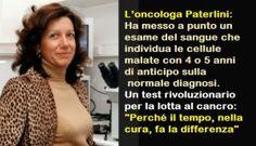 """L'oncologa Patrizia Paterlini: """"Scopro i tumori prima che nascano"""" - Incazzati Contro La Casta"""