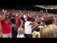 Braves vs Cardinals Tomahawk Chop Pregame - YouTube