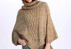 Du bist auf der Suche nach einer Alternative zu Pullover und Strickjacke? Ein Strick-Poncho, der durch Eleganz und edles Design besticht ist das Must-have.