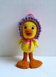 Duck - Free Crochet Pattern