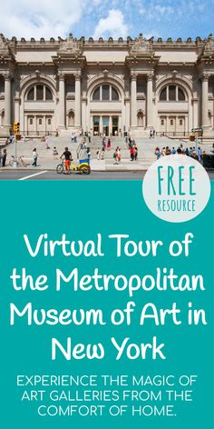 The Met Project presents a series of videos to offer new and dynamic access to some of the Museum's iconic spaces with a perspective typically unavailable to the public. Virtual Museum Tours, Virtual Tour, Learning Activities, Kids Learning, Virtual Field Trips, Virtual Travel, Science, Walking Tour, Lyric Quotes