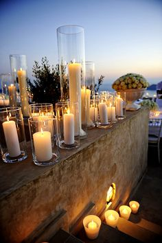 Candlelight with an amazing view ~