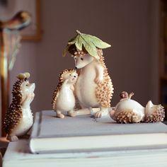 Ordinaire Original Cute Little Hedgehog Resin Animals Creative Craft Home Decoration  Micro Landscape Decor
