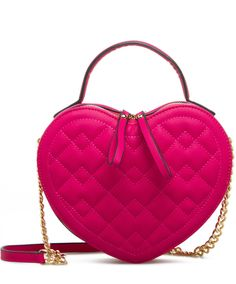 Charleston Quilted Heart Purse