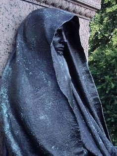 grief statue washington dc   Statue of Grief-Rock Creek Church Cemetery-Washington, DC   Flickr ...