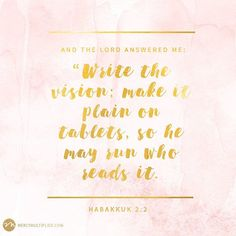 What is God calling you to? Take steps towards the vision on your heart today! #WednesdayWisdom