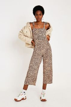 b80b2c5c2bf7ce Slide View  1  Faithfull The Brand Elsa Leopard Print Jumpsuit Faithfull  The Brand