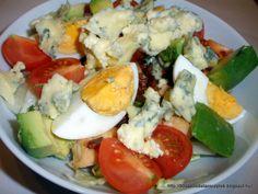 Attila és Judit 90 napos diéta és recept blogja: Cobb saláta Caprese Salad, Cobb Salad, Hungarian Recipes, Diy Food, Salad Recipes, Healthy Eating, Lunch, Cooking, Kitchen