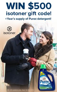 Repin if you could use some new fall accessories! WIN a $500 gift code from isotoner and a free year of Purex detergent.