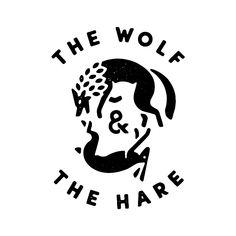 "logodesignclub: ""The Wolf & The Hare by Peter Komierowski - via Dribbble - Logo Design "" Logo Branding, Corporate Branding, Corporate Design, Brand Identity Design, Branding Design, Brochure Design, Game Design, Design Design, Type Logo"