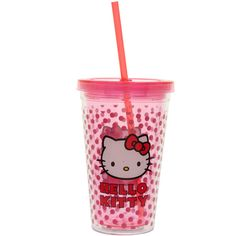 Gifts | New Arrivals ($7) ❤ liked on Polyvore featuring hello kitty, accessories, fillers, drinks and other