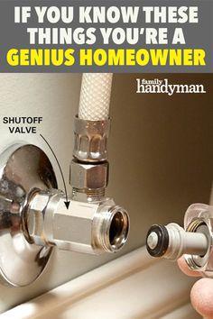 Architecture Design, Home Maintenance Checklist, Plumbing Installation, Home Fix, Diy Home Repair, Shower Plumbing, Home Upgrades, Home Repairs, Diy Home Improvement