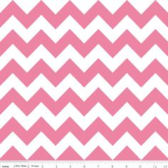Riley Blake Designs House Designer - Chevron - Chevron in Hot Pink